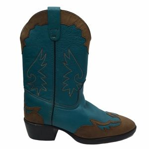 Cowboy Boots NEW Leather Size Youth 4.5
